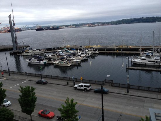 Seattle Marriott Waterfront : Harbor view may 2014