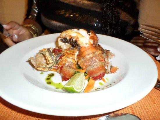 Paradisus Palma Real Golf & Spa Resort: Market Grill Lobster