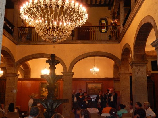 Hotel Frances: lobby