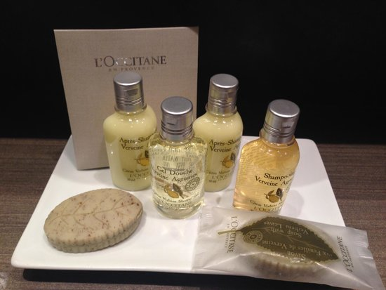 El Palace Hotel: Luxurious toiletries