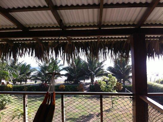 Hostal Kundalini: balcon