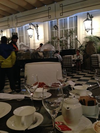 El Palace Hotel: The breakfast area