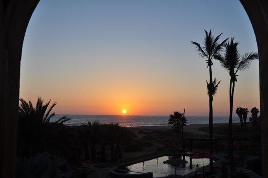 Villa Santa Cruz: sunset