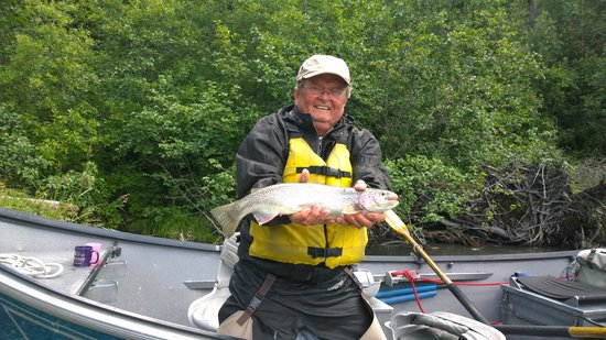 Funny Moose Lodge: Mike's bigger catch