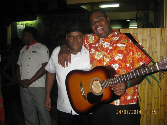 Nadi Bay Resort Hotel : Farewell Song