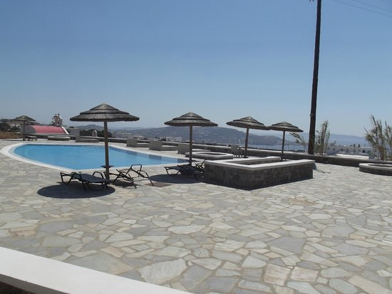 Aeolos Mykonos Hotel: View from room