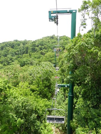 Rainforest Adventures : the chairlift