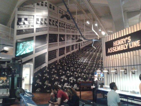 Henry-Ford-Museum: Catena di montaggio