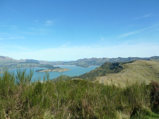 Lyttleton Harbour from the Port Hills