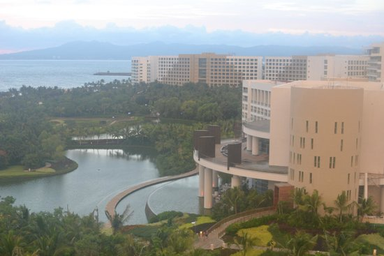 Grand Luxxe Nuevo Vallarta: View from our room. Such a large area.