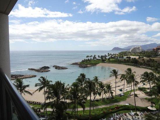 Marriott Ko Olina Beach Club : 9階の部屋からのビュー