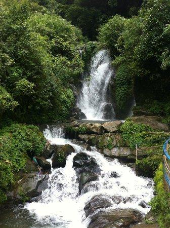 Barbotey Rock Garden: Rock Garden Waterfall 2