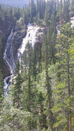 Grassi Lakes : Waterfall