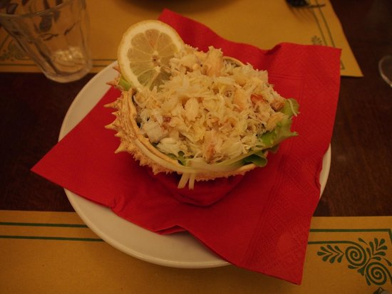 Osteria Ai Do Farai: Granseola alla Veneziana