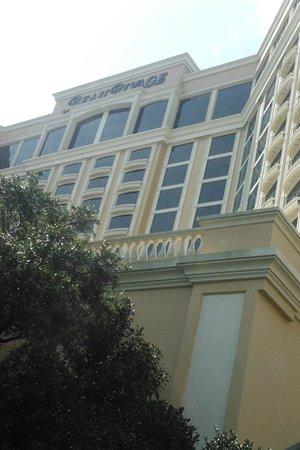 Beau Rivage Resort & Casino Biloxi: Facade of BR