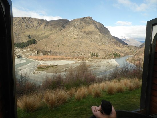 Onsen Hot Pools Retreat & Day Spa: Amazing view