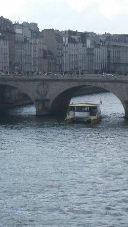 Hotel de Londres Eiffel: River Seine