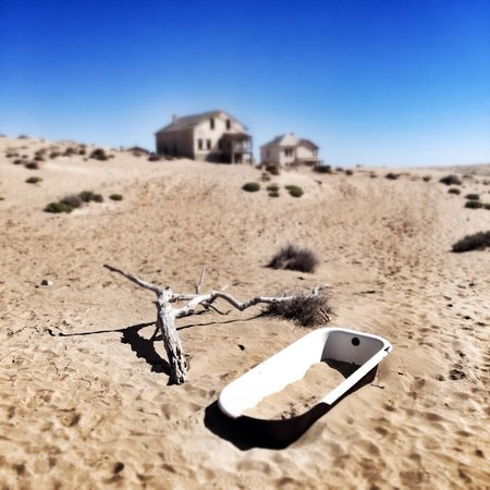 Luderitz, Namibia: Bain de dunes