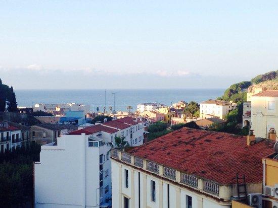Dynamic Hotels: La vue depuis le restaurant au 6eme étage