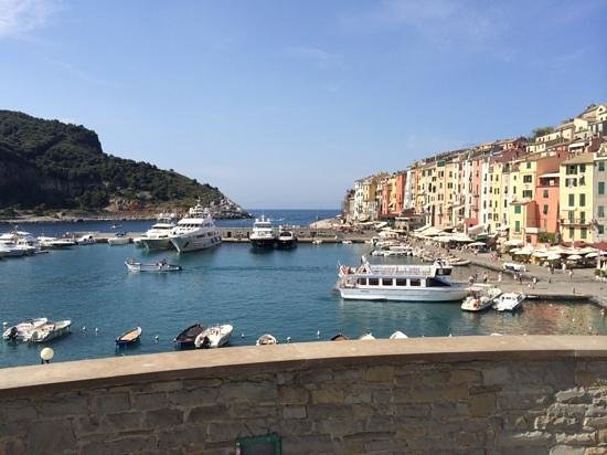 Grand Hotel Portovenere : view from the restaurant