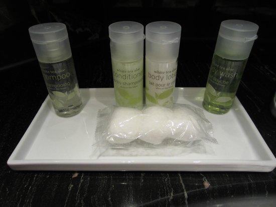 The Westin Grand Berlin : Lovely bathroom products