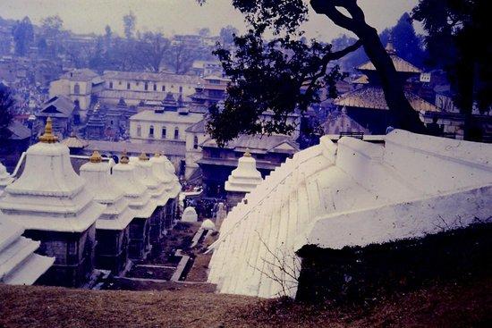 Pashupatinath Temple: Interno diapo 1985