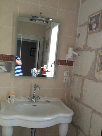 Le Pavillon des Lys: our nice big bathroom