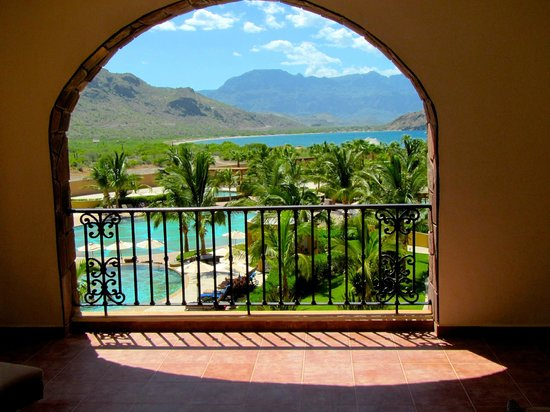 Villa del Palmar Beach Resort & Spa at The Islands of Loreto: The gorgeous view from our patio