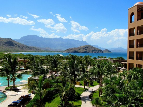 Villa del Palmar Beach Resort & Spa at The Islands of Loreto: Another view from our patio