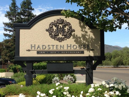 Hadsten House: Front Sign