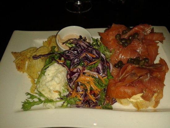 Busker Brownes: salmone
