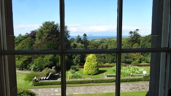 Glenapp Castle : Garden and Ailsa Craig
