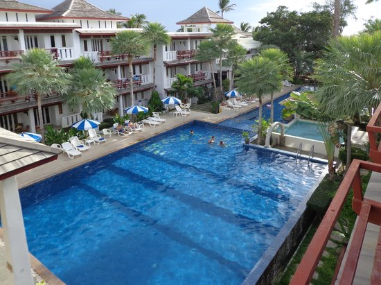 Koh Tao Montra Resort & Spa: depuis le 2e étage
