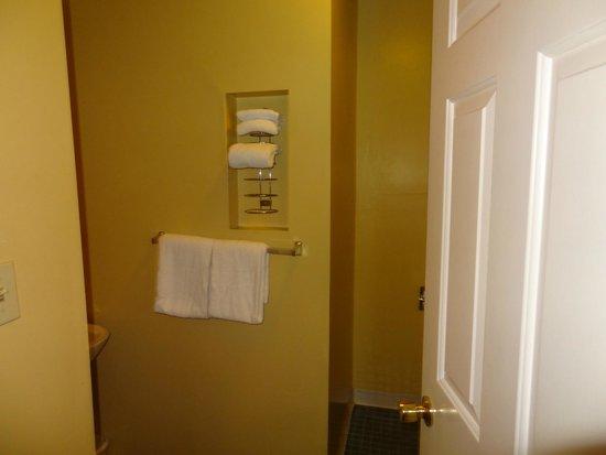 Hotel Bijou: Bathroom entry