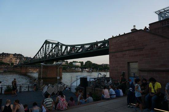 Eiserner Steg: 鐵橋