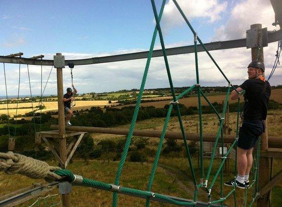Xtreme.ie: Aerial trekking