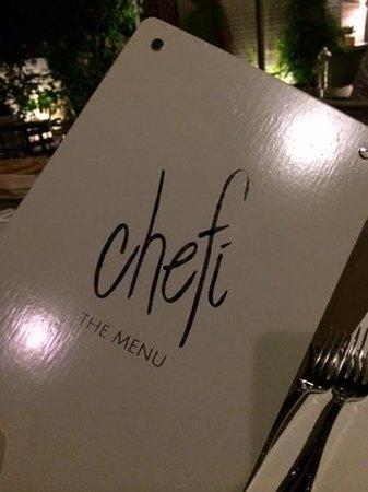 Chefi The Restaurant: just chefi