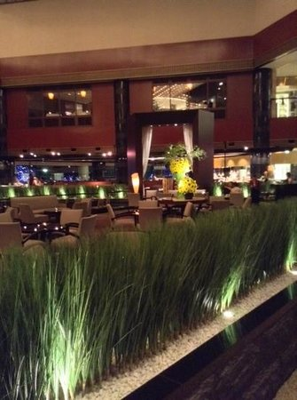 Ana Intercontinental Tokyo: Espace accueil et cafe lounge