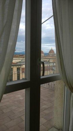 Delle Nazioni Hotel : Вид из окна