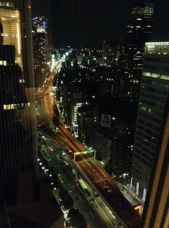 Ana Intercontinental Tokyo: vue de la chambre