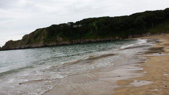 Barafundle Beach: Barafundle bay