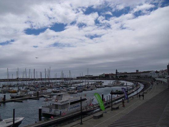 Hotel Marina Atlantico : Ponta Delgada Room view