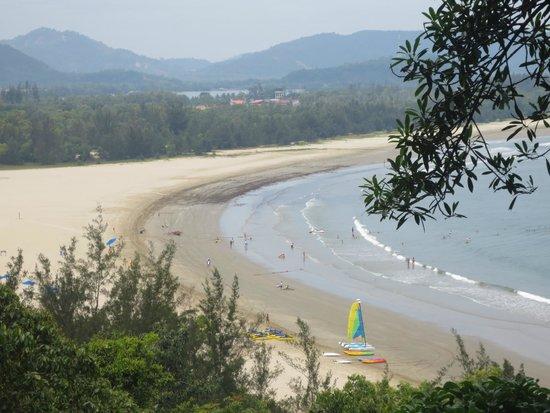 Shangri-La's Rasa Ria Resort & Spa: View from canopy walk