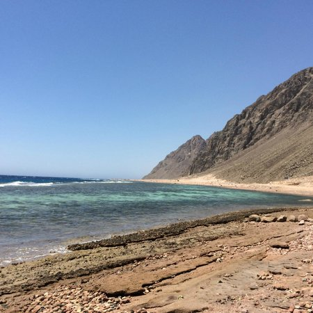 Dahab, Egipt: View at Three Pools