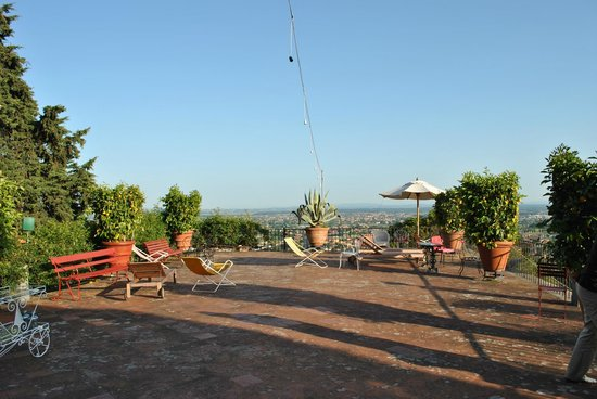 Villa Saulina : Dachterasse