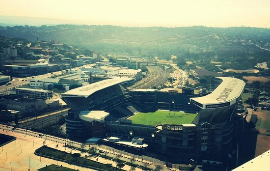 Moses Mabhida Stadium: The Shark Tank from above