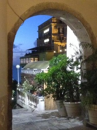 il buco Sorrento: the view from our table
