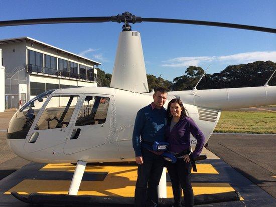 Sydney Helitours: Before take off