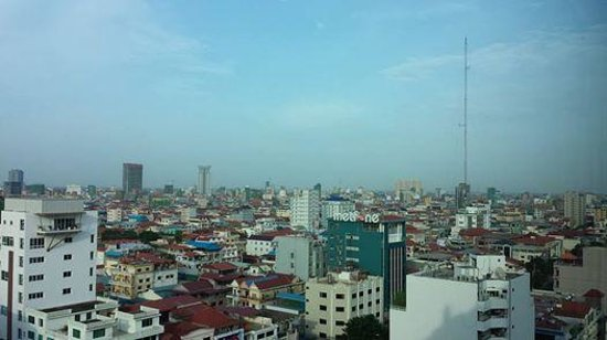The Great Duke Phnom Penh: View from the 15th Floor