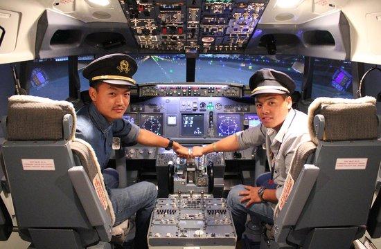 Flight Experience Flight Simulator: Captain of the day